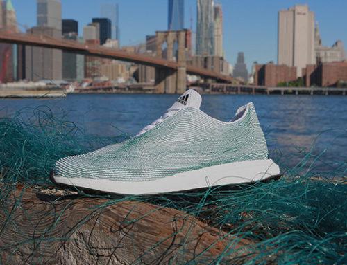 Le scarpe, la plastica e l'oceano